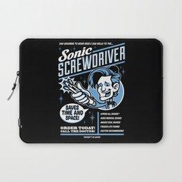 Sonic Screwdriver Laptop Sleeve