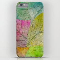 Pattern of Colorful Leaves iPhone 6 Plus Slim Case