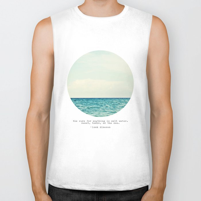 Salt Water Cure Biker Tank