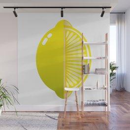 Acid lemon Wall Mural