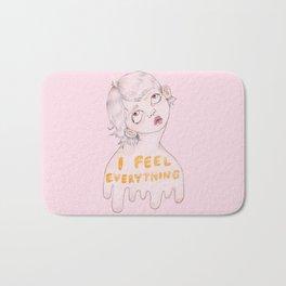 I feel everything Bath Mat