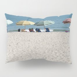 Bald Head Island Beach Umbrellas | Bald Head Island, North Carolina Pillow Sham