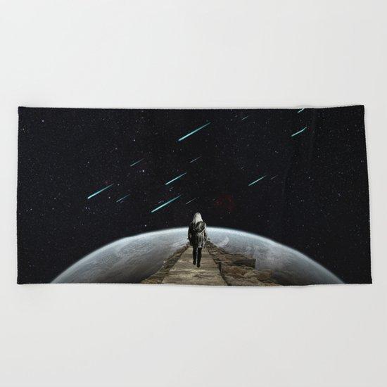 Falling Stars Beach Towel