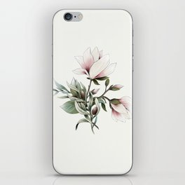 Magnolia and Olives iPhone Skin