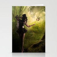 tinker bell Stationery Cards featuring Tinker Bell by Best Light Images