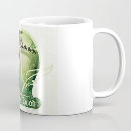 Robin Hood - Scroll - Green Coffee Mug