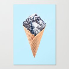 ICE CREAM MOUNTAIN Canvas Print