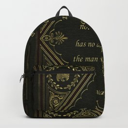 Book Quote 9 Backpack