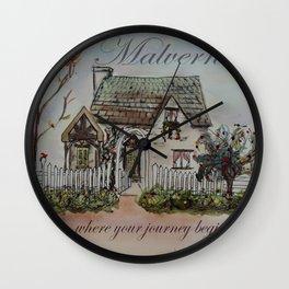 Malvern Cottage Wall Clock