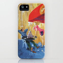 Drink and play iPhone Case