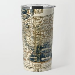 World Map 1482 Travel Mug