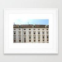 vienna Framed Art Prints featuring Vienna  by Blake Hemm