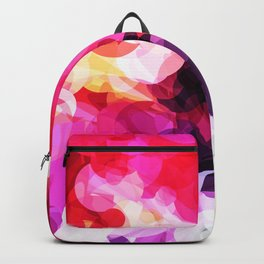 Bright Happy Color Abstract Backpack