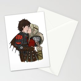 Hiccstrid Kiss Stationery Cards