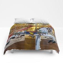 Vintage Retro Carousel Comforters