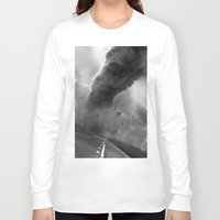 storm Long Sleeve T-shirts featuring Storm by eARTh