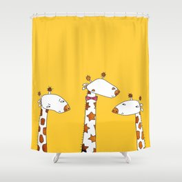 Bow Tie Envy Shower Curtain