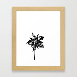 Starflower Framed Art Print