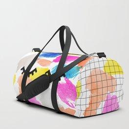eyelashes Duffle Bag