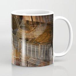 Abstract Cubist Style Guitar Coffee Mug