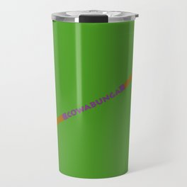 Cowabunga (Donatello Version) Travel Mug