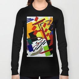 Olga Rozanova Suprematism Long Sleeve T-shirt