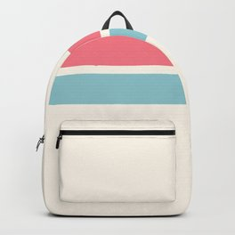 2 Stripes Pink Mint Backpack