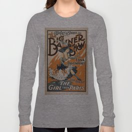 Vintage poster - The Girl from Paris Long Sleeve T-shirt