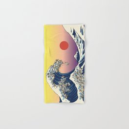 The Great Wave Of  Cat Hand & Bath Towel