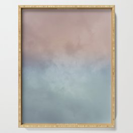 Cotton Candy Skies Serving Tray