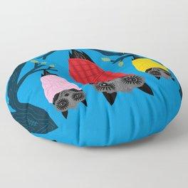 Bats in Blankets Floor Pillow