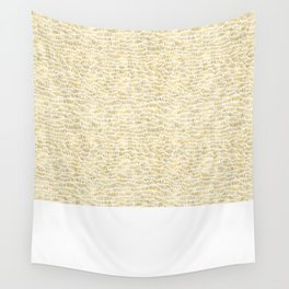 Gold Dashery Wall Tapestry