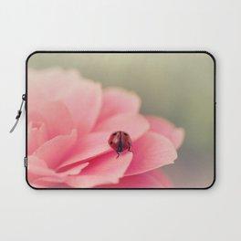 Ladybird on flower Laptop Sleeve