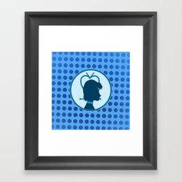 Sailor Mercury Framed Art Print