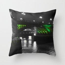 Southwark Bridge London Throw Pillow