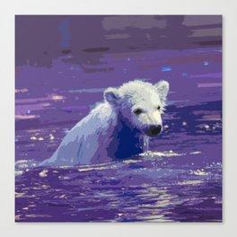 Polar Bear 2014-0906 Canvas Print
