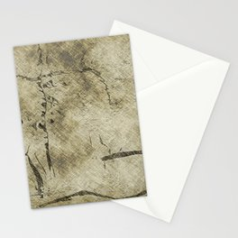 Beige old brown Stationery Cards