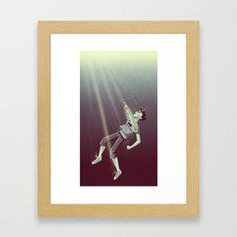Son of the Sea God Framed Art Print