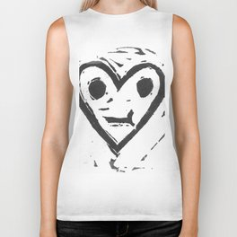 :-/ Heart Biker Tank