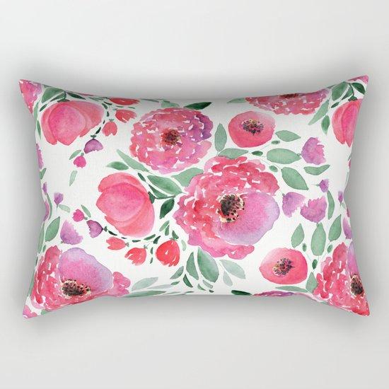 flower pattern 6 Rectangular Pillow