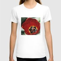 tulip T-shirts featuring Tulip by Charlene McCoy