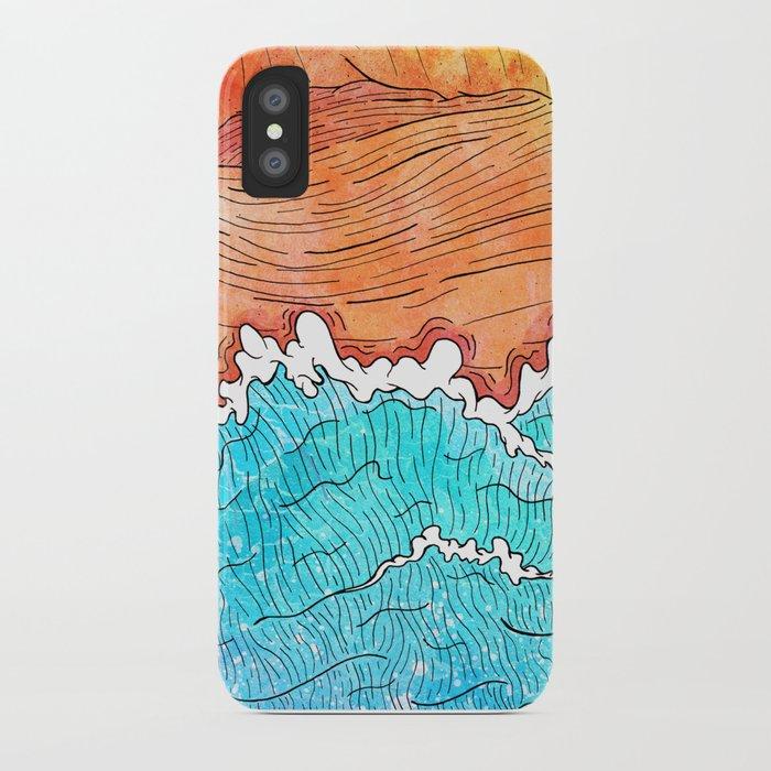 Seashore iPhone Case