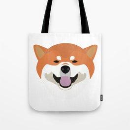 Shiba Inu Decal Tote Bag