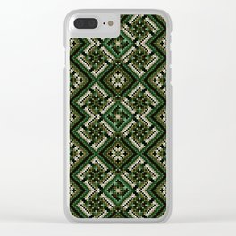 solar stamp / rhythm life. Divinely psychedelic ornament Clear iPhone Case
