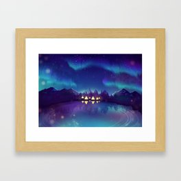 Northern Lights 2 Framed Art Print