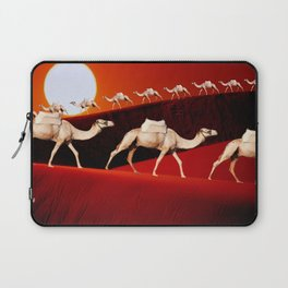 Camel Train Laptop Sleeve