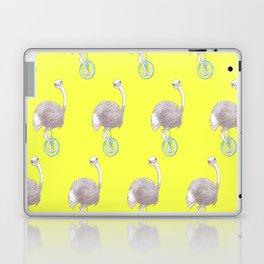 Ostrich on Monocycle Laptop & iPad Skin
