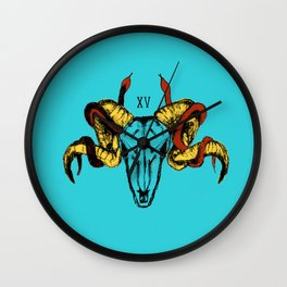 El Diablo XV Wall Clock