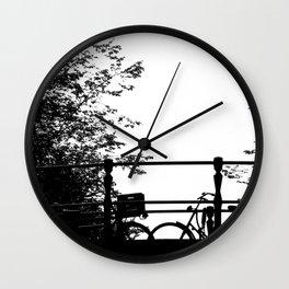 Sleeping Beast (Black) Wall Clock