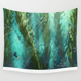 Forest Depths Wall Tapestry